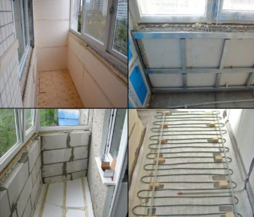 Способы утепления балкона - балкон под ключ - цены в москве .