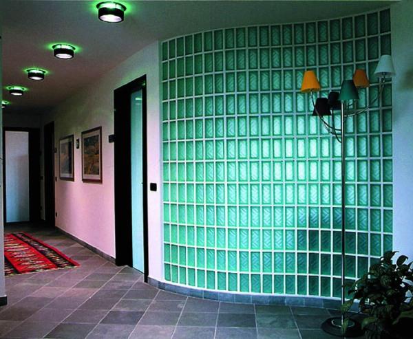 Стены из стеклоблоков своими руками. Мастер класс, дизайн, фото.