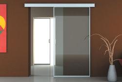 Сдвижные двери могут состоять, как из одного полотна, полностью закрывая проём, …