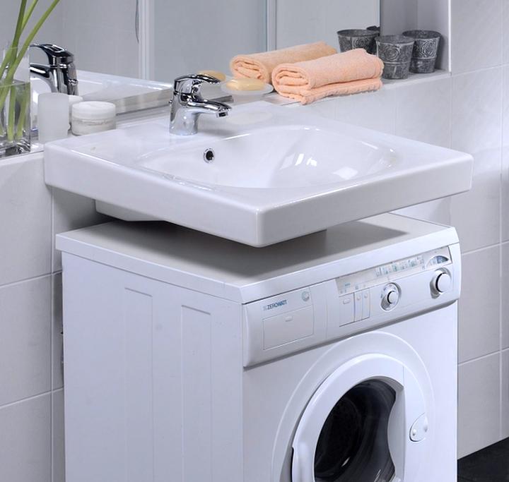 Раковина над стиральной машиной