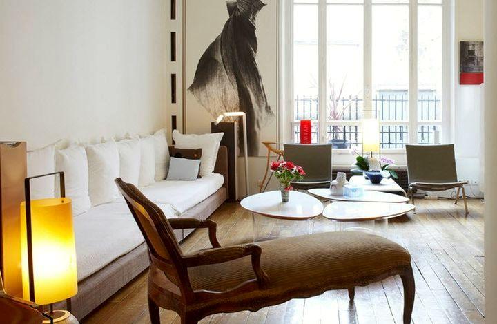Старинная мебель в современном интерьере