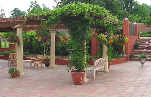 Патио - зона отдыха на даче
