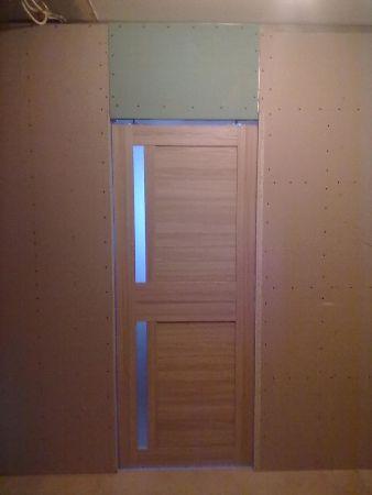 Установка раздвижной дверей своими руками с