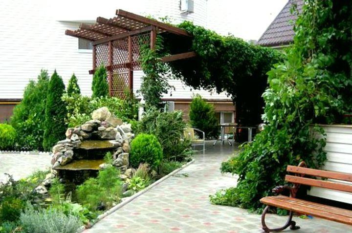 Озеленение мест отдыха