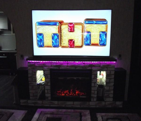 Декоративный камин в квартире своими руками (монтаж)