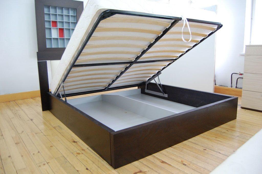Подъемная двуспальная кровать