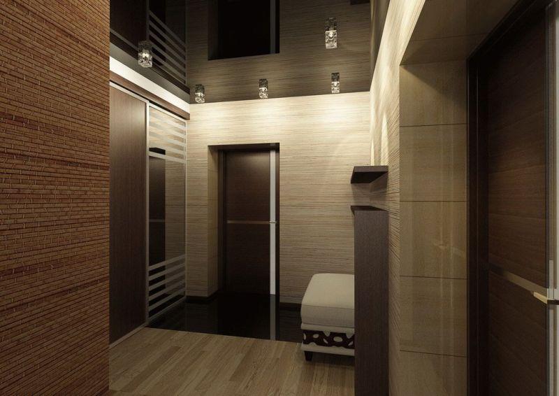 Дизайн интерьера коридора (идеи и фото)