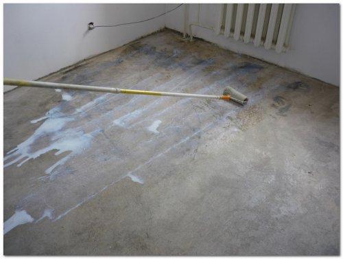 Грунтовка стен, пола под плитку, стяжку, наливной пол, обои, покраску.
