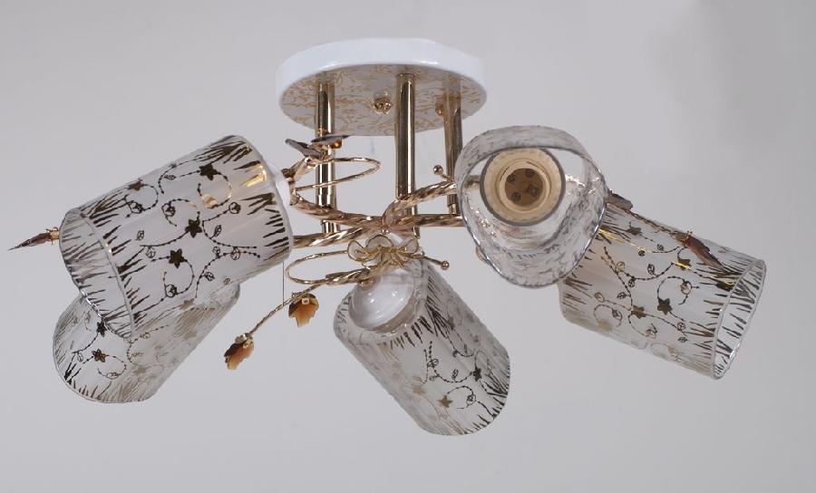 Светильник из керамики