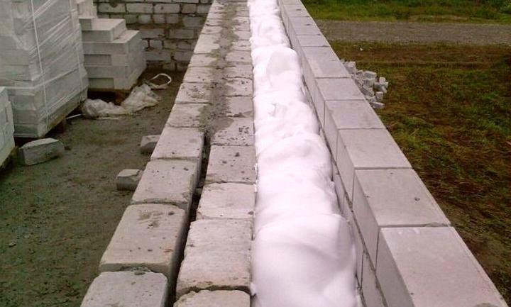 Теплоизоляция внутри стен