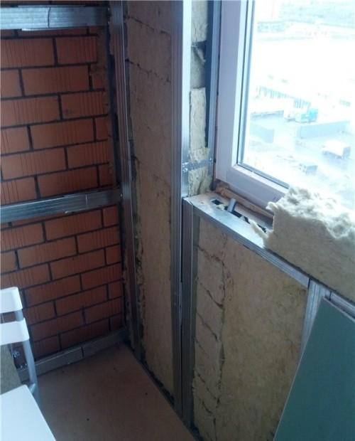 Утепление и отделка лоджии (балкона)