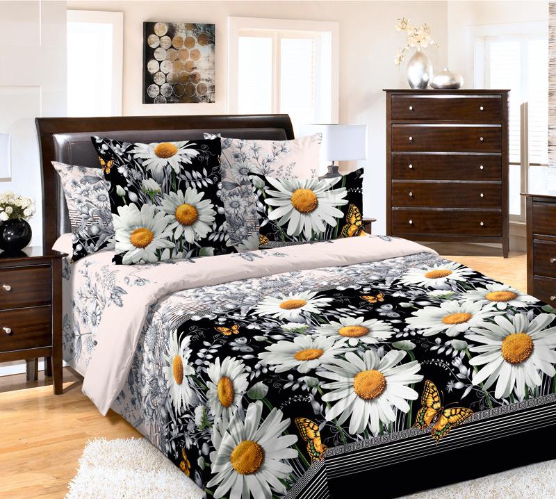 Ромашки на постельном белье