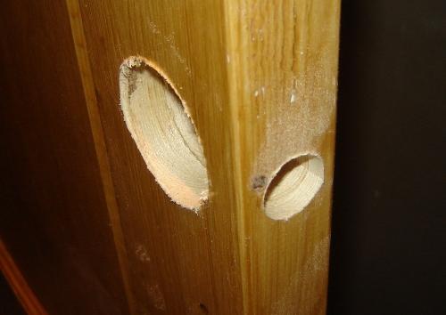 Установка (врезка) дверных ручек (кноб) своими руками