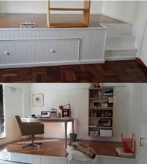 Кровать для маленькой комнаты или кровать – кабинет