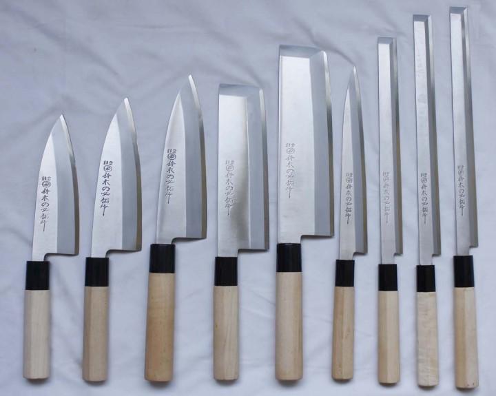 Ножи Японии для кухни