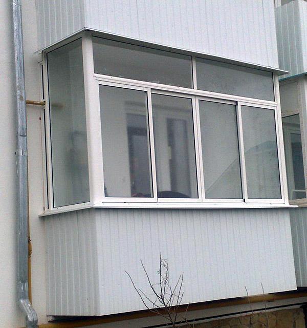 Застекление балкона своими руками готовый