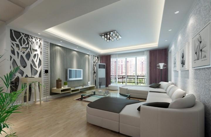 Дизайн в гостиной с акцентом на эклектике