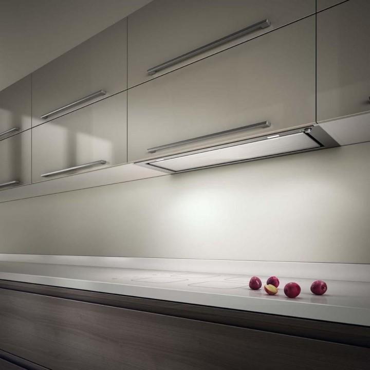 Встраиваемая вытяжка для кухни в современном стиле