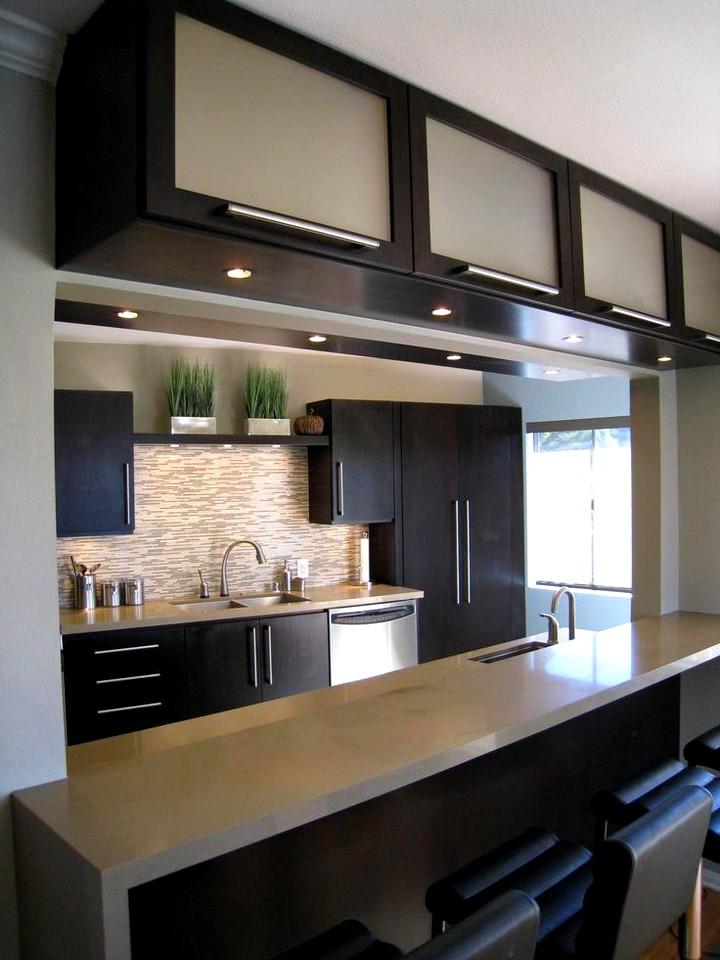Кухонный гарнитур для маленькой кухни (6)