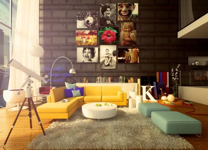Дизайн гостиной-2015