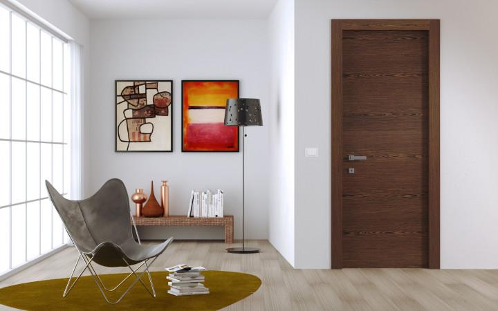 Шпонированные двери идеи и фото