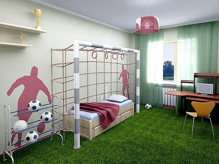 оформление детской комнаты 4