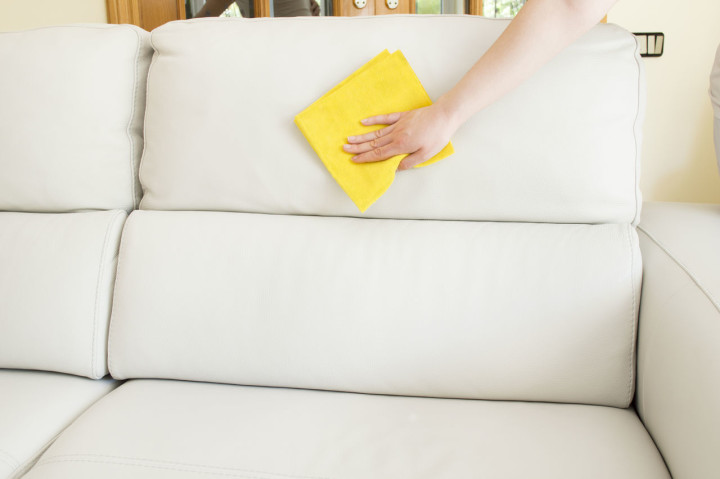 очистка дивана