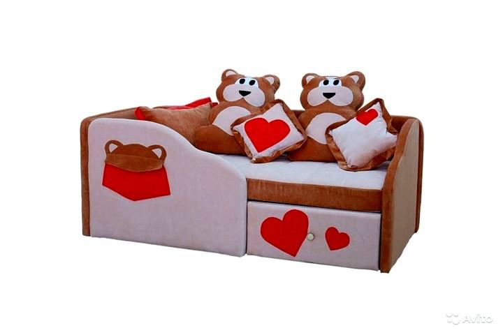Детские диваны с бортиками (7)