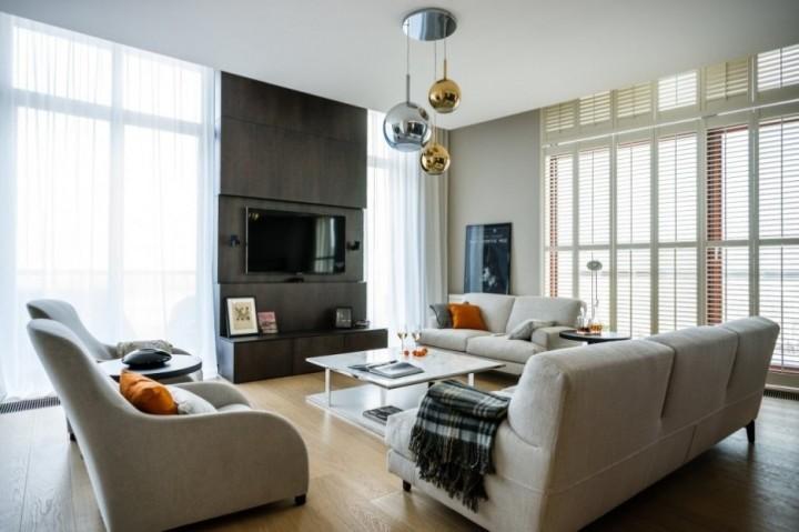 Особенности дизайна гостиной в стиле минимализм