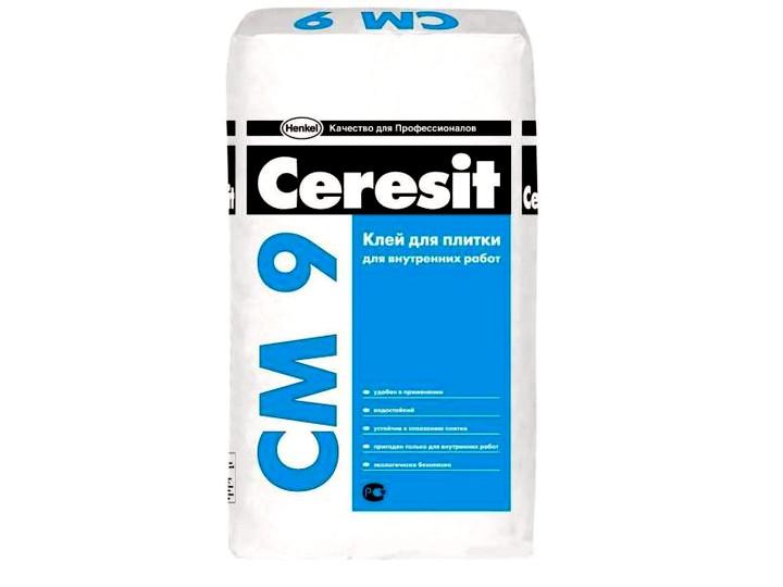 клей для плитки «ceresit»