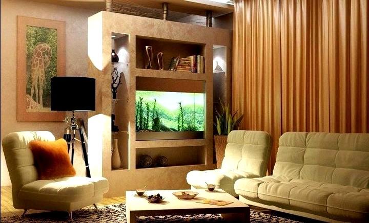 Освещение и цветовая гамма для маленьких гостиных3