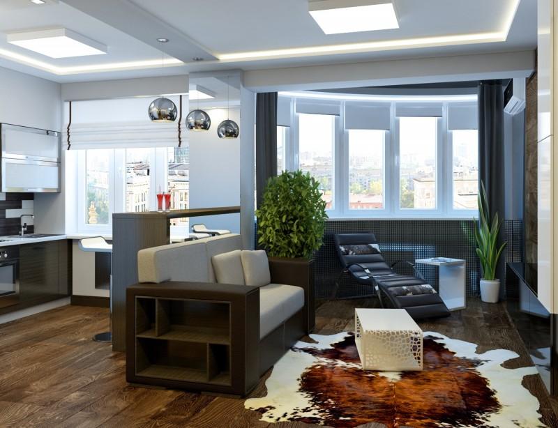 Дизайн интерьера студии 25 кв метров