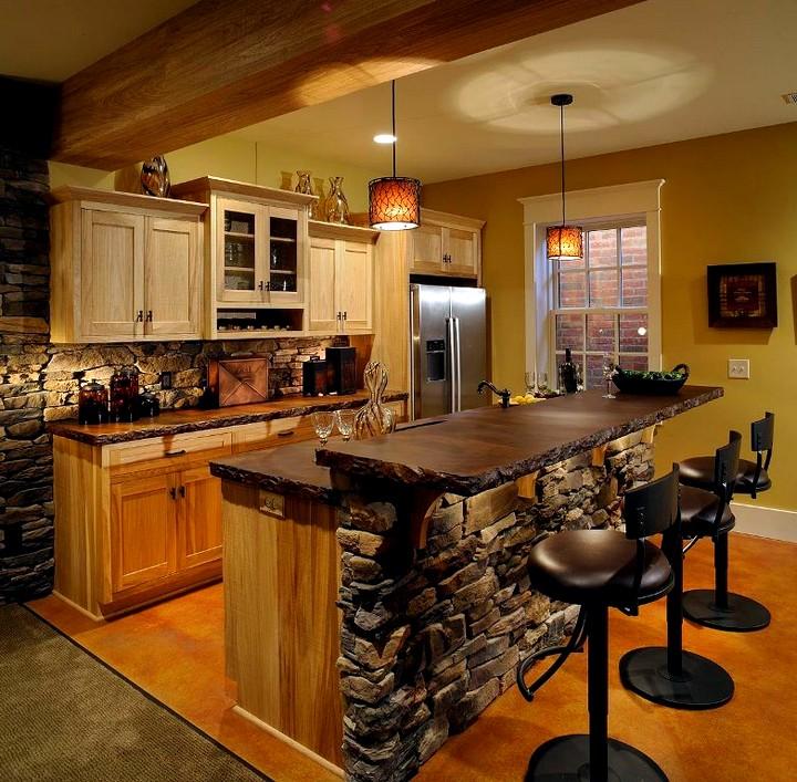 Кухня, совмещённая с гостиной (8)