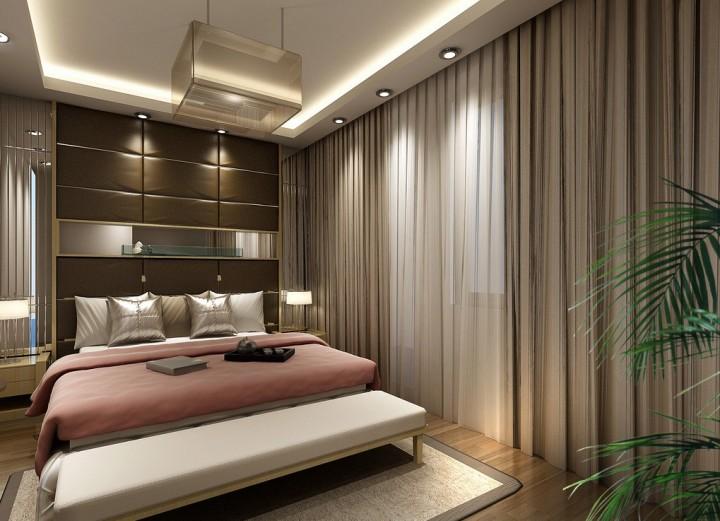 Модные шторы для спальни: идеи и необычные решения