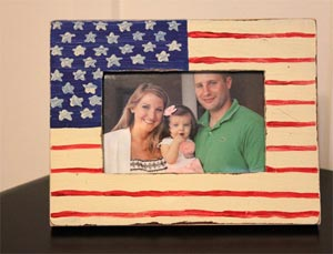 американский флаг 17