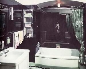 ар деко в ванной комнате 38