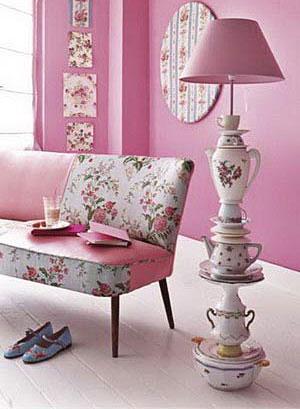 бело-розовый интерьер 15