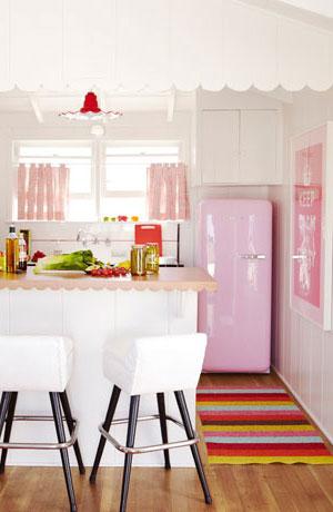 бело-розовый интерьер 22