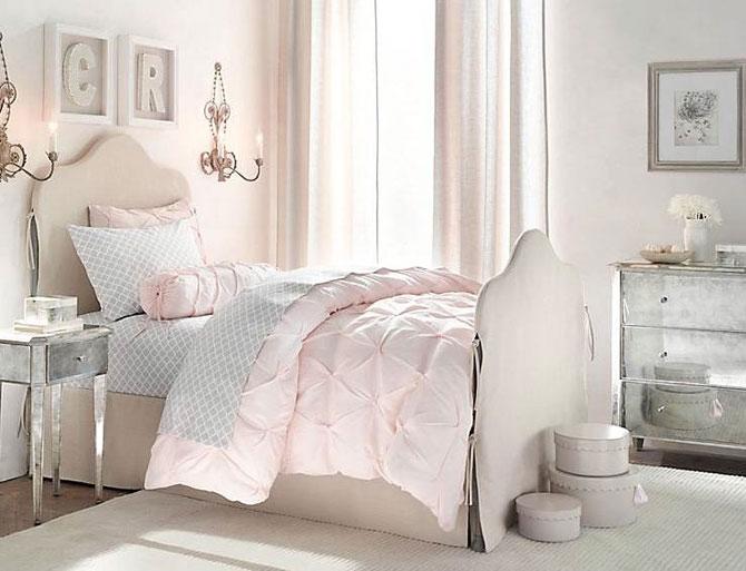 бело-розовый интерьер 57