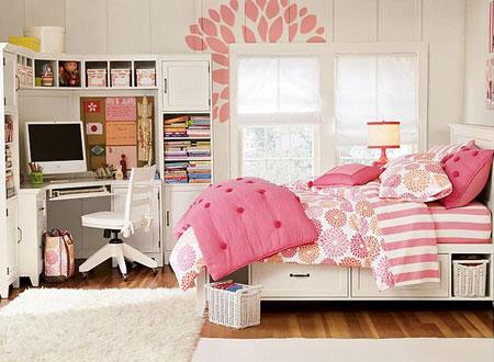 бело-розовый интерьер 58