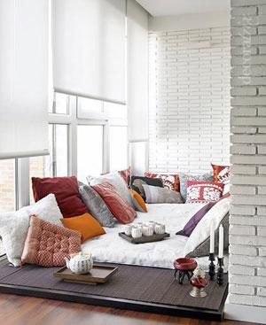 белые шторы 09