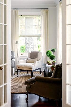 белые шторы 18