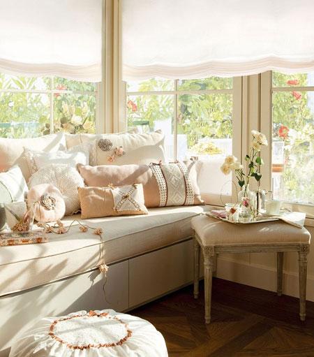 белые шторы 22