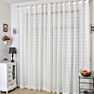 белые шторы 34