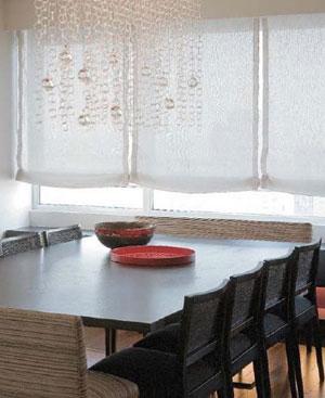 белые шторы 37