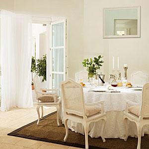 белые шторы 46