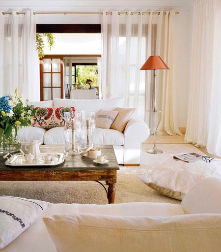 белые шторы 52