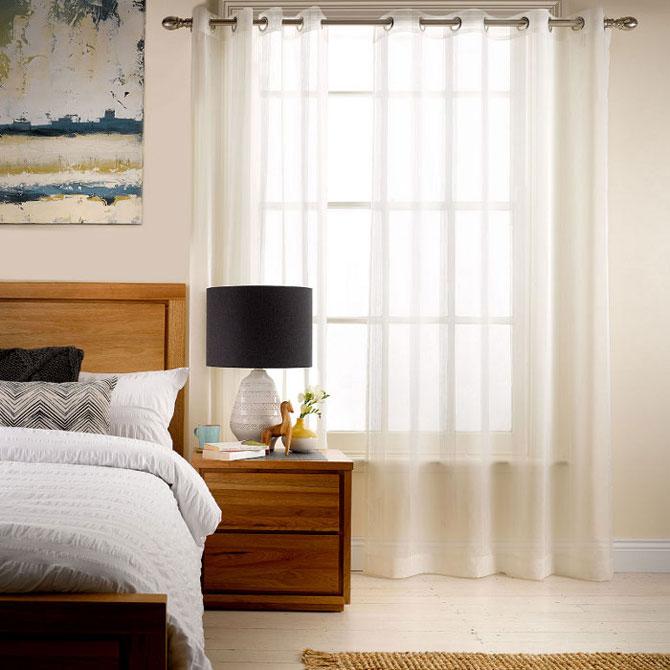 белые шторы 53