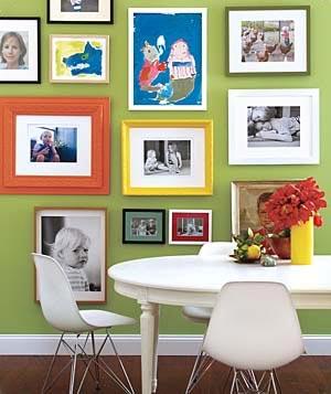 декор стен фотографиями 001