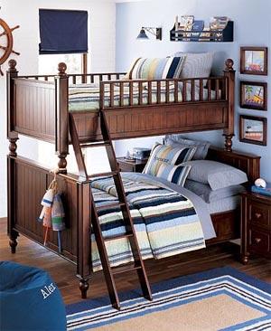 детская комната в морском стиле 01